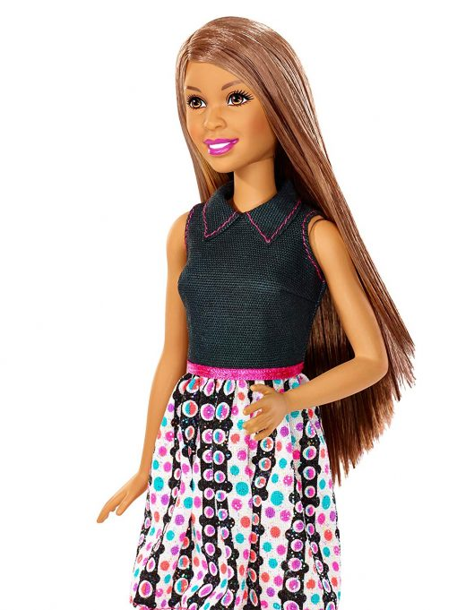 Barbie Mix 'N Color Barbie Doll Brunette 7