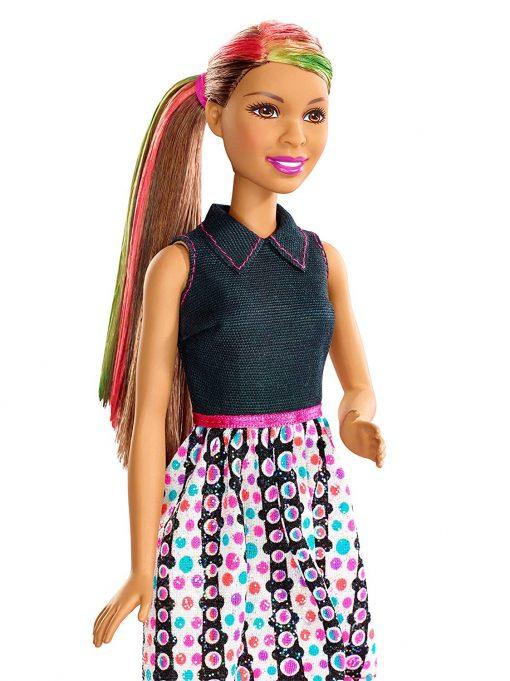 Barbie Mix 'N Color Barbie Doll Brunette 8
