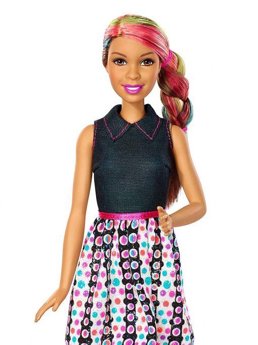 Barbie Mix 'N Color Barbie Doll Brunette 9
