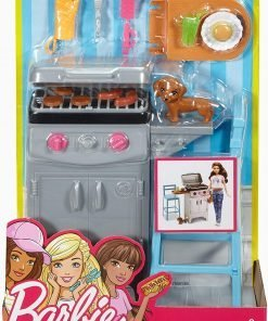 Barbie BBQ Grill Furniture & Accessory Set 2