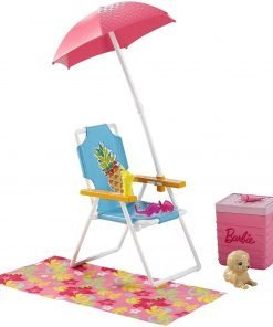 Barbie Beach Picnic Furniture & Accessory Set