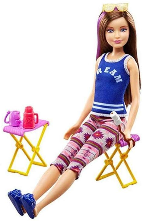 Barbie Camping Fun Tent, Skipper Doll and Accessories - New for 2016 4