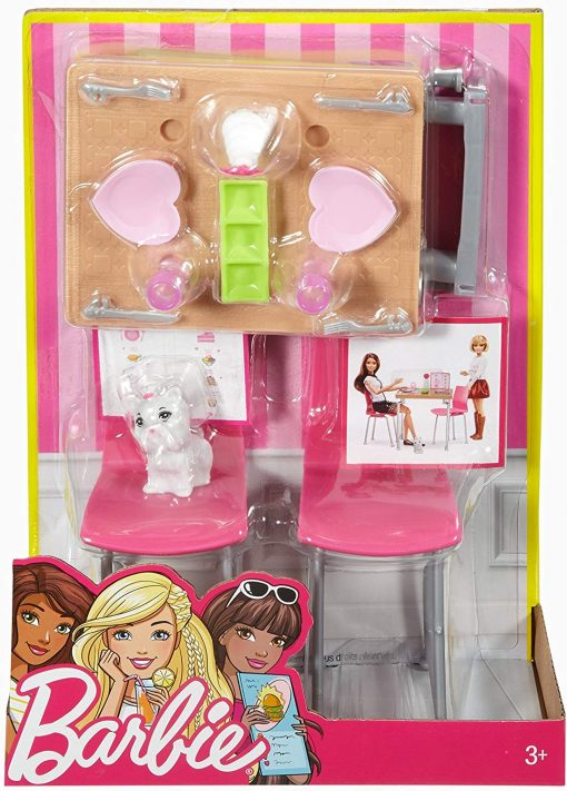 Barbie Date Night & Accessories Playset 5