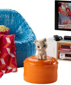 Barbie Movie Night & Accessories Playset 2