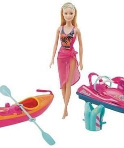 Barbie On-The-Go Watercraft and Kayak Set 2