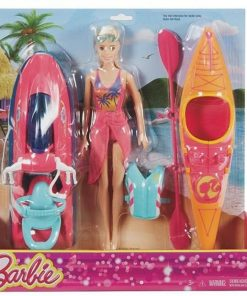 Barbie On-The-Go Watercraft and Kayak Set