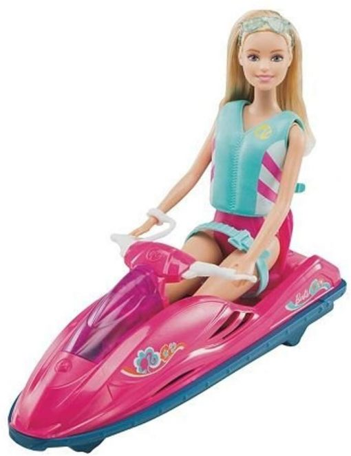 Barbie On-The-Go Watercraft and Kayak Set 3