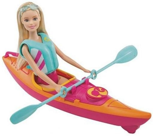 Barbie On-The-Go Watercraft and Kayak Set 4