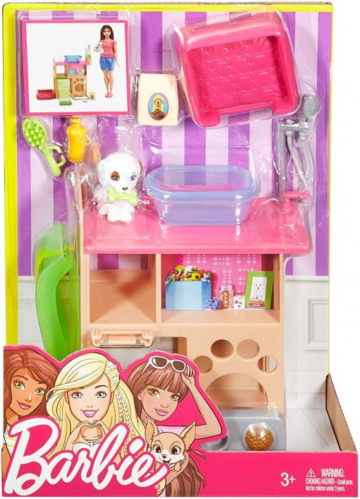 Barbie Pet Room & Accessories Playset 5