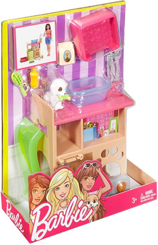 Barbie Pet Room & Accessories Playset 6