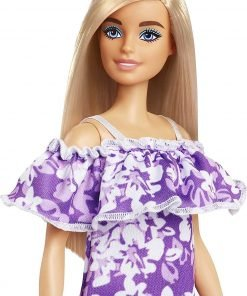Barbie Loves The Ocean Beach-Themed Doll (11.5-inch Blonde), Made from Recycled Plastics, Wearing Fashion & Accessories, Gift for 3 to 7 Year Olds 5