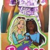 Barbie Loves The Ocean Beach-Themed Doll (11.5-inch Blonde), Made from Recycled Plastics, Wearing Fashion & Accessories, Gift for 3 to 7 Year Olds 6